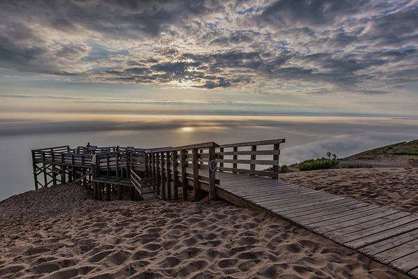 Wall Art - Photograph - Lake Michigan Overlook 8 by Heather Kenward