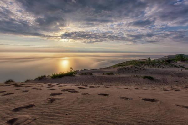 Drive Wall Art - Photograph - Lake Michigan Overlook 9 by Heather Kenward