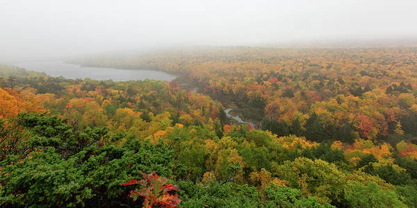 Photograph - Lake Of The Clouds 8 by Heather Kenward