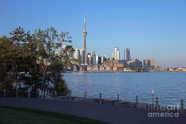 Wall Art - Photograph - Lake Ontario And Skyline Of Toronto by Bill Cobb