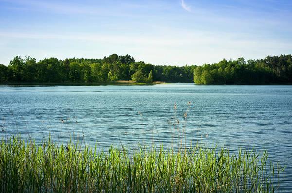 Photograph - Lake Panorama by Bosca78