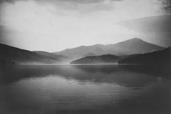 Photograph - Lake Placid Reflecting White Face Mounta by John Dominis