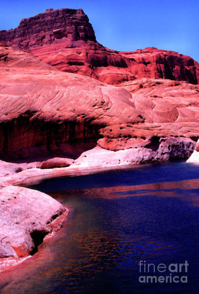 Wall Art - Photograph - Lake Powell Red Rocks by Thomas R Fletcher