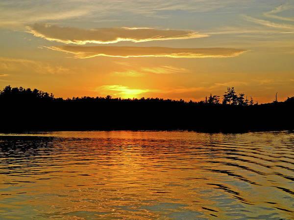 Photograph - Lake Ripple Melody by Lynda Lehmann