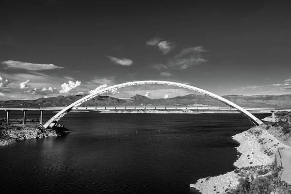 Photograph - Lake Roosevelt Bridge by TM Schultze