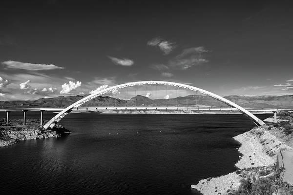 Photograph - Lake Roosevelt Bridge by TM Schultze