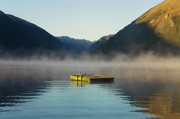 Raft Photograph - Lake Rotoiti by Bonita Cooke
