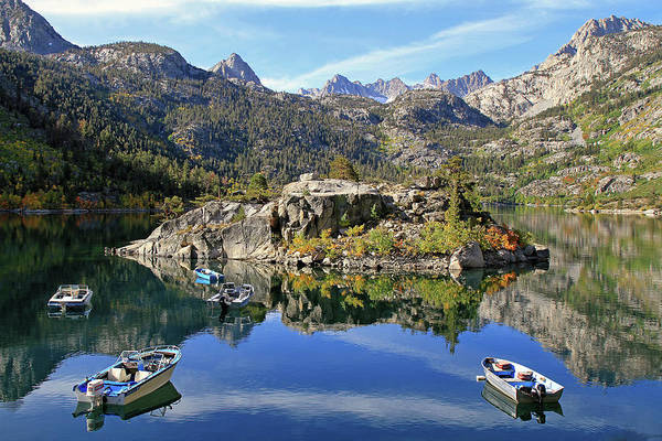 Inyo Mountains Photograph - Lake Sabrina by Donna Kennedy