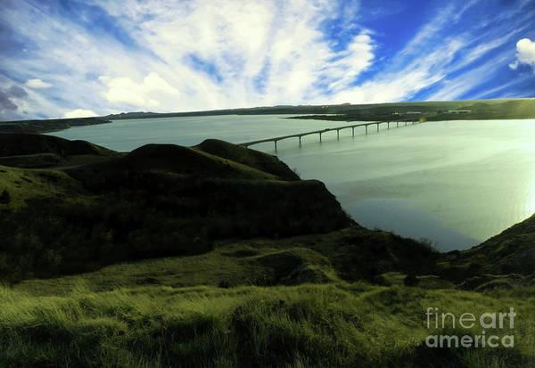 Wall Art - Photograph - Lake Sakakawea From Sanish Hill by Jeff Swan