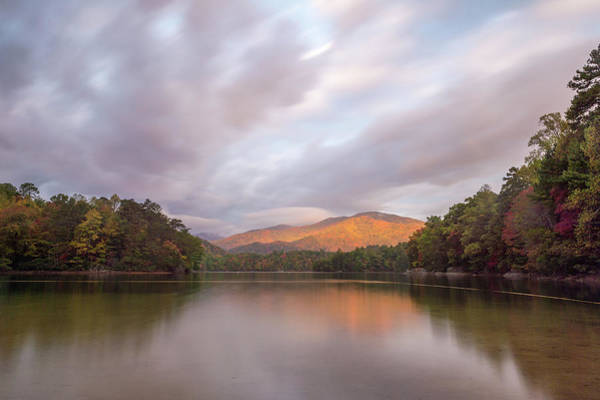 Photograph - Lake Santeetlah Sunrise by Joe Leone