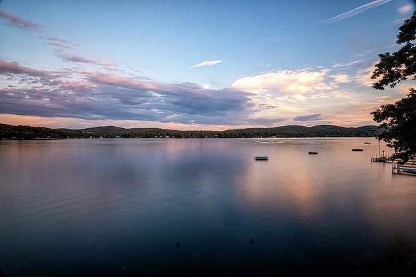Photograph - Lake Sunset by Tom Singleton