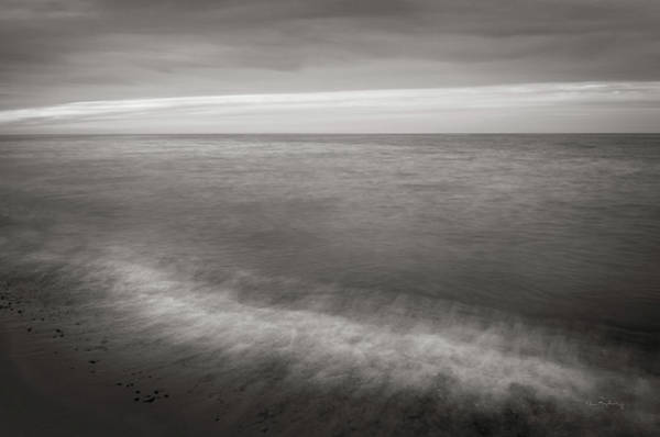 Wall Art - Photograph - Lake Superior Beach I Bw by Alan Majchrowicz
