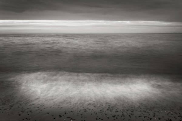 Wall Art - Photograph - Lake Superior Beach II Bw by Alan Majchrowicz