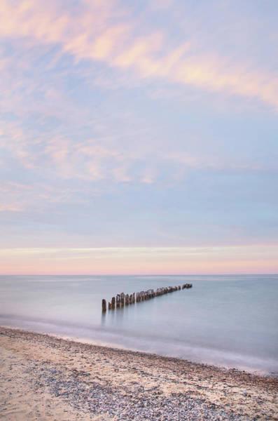 Lake Superior Wall Art - Photograph - Lake Superior Old Pier I by Alan Majchrowicz