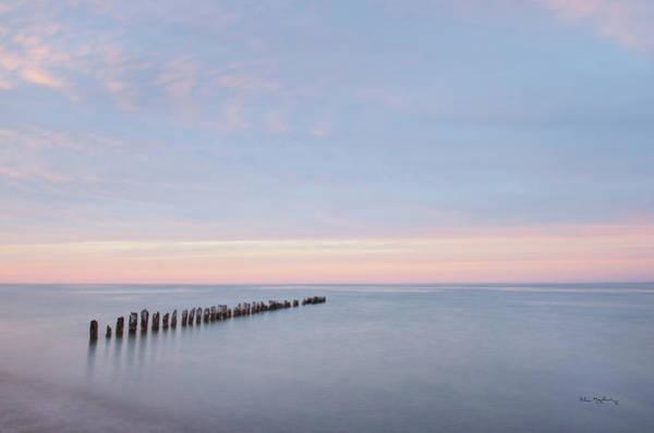 Lake Superior Wall Art - Photograph - Lake Superior Old Pier II by Alan Majchrowicz