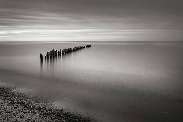 Wall Art - Photograph - Lake Superior Old Pier V by Alan Majchrowicz