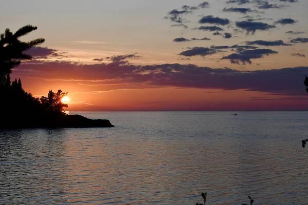 Wall Art - Photograph - Lake Superior Sunrise by Hella Buchheim