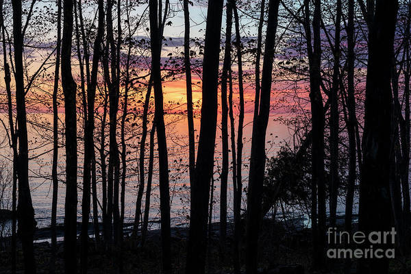 Photograph - Lake Superior Sunrise by Jim West