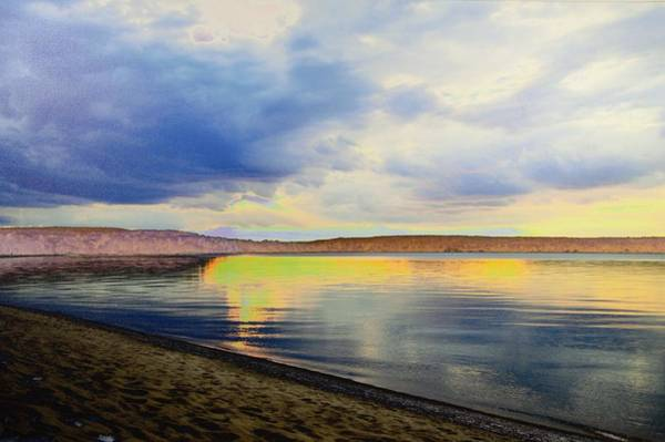 Lake Superior Sunset Art Print