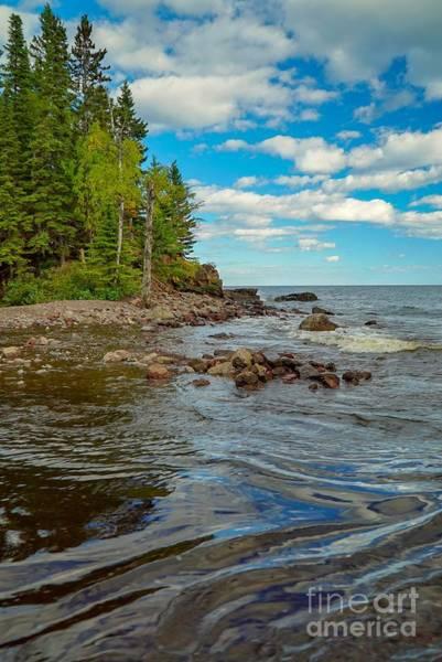 Photograph - Lake Superior Waves by Susan Rydberg