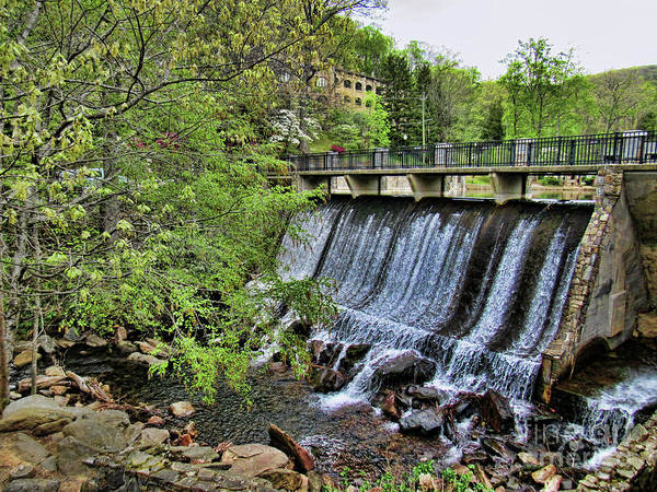 Photograph - Lake Susan Overflow At Montreat by Roberta Byram