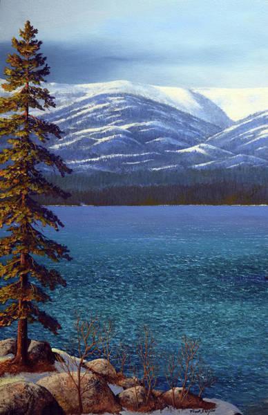 Painting - Lake Tahoe 1 by Frank Wilson