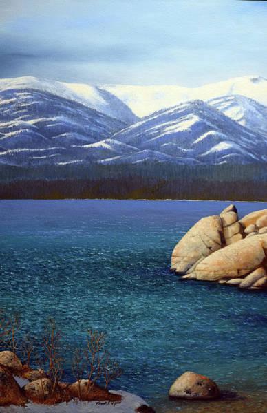 Painting - Lake Tahoe 2 by Frank Wilson