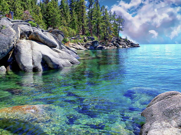 Photograph - Lake Tahoe by Anthony Dezenzio