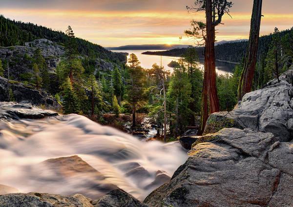 Eloquent Wall Art - Photograph - Lake Tahoe Beauty by Leland D Howard