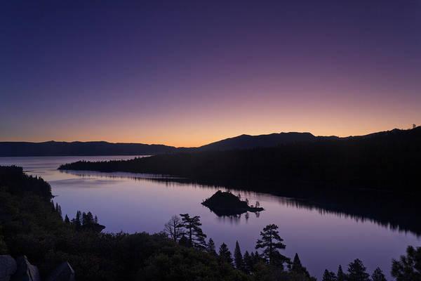 Lake Tahoe Photograph - Lake Tahoe Emerald Bay Dawn by Picturelake