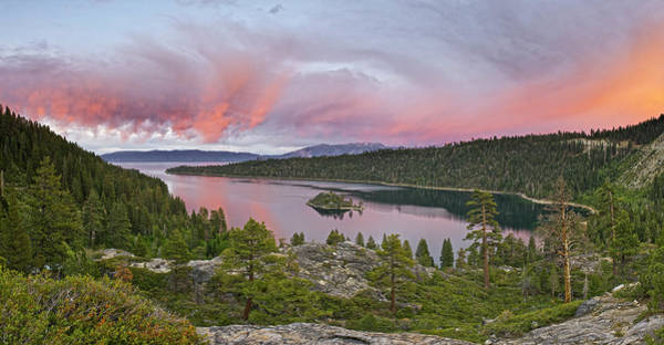 Lake Tahoe Photograph - Lake Tahoe by Enrique R. Aguirre Aves