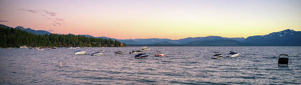 Wall Art - Photograph - Lake Tahoe Pink Sky by Ants Drone Photography