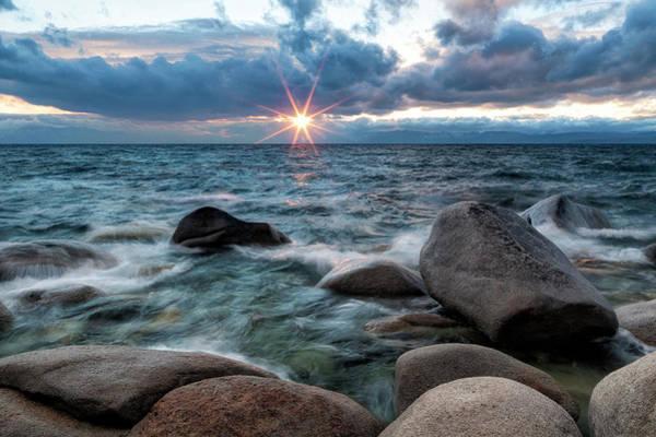 Lake Tahoe Photograph - Lake Tahoe Sunset by Justin Reznick Photography