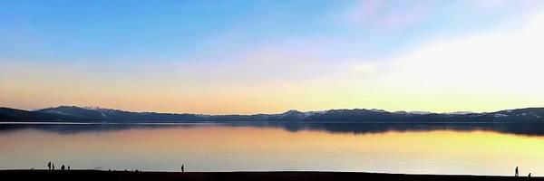 Wall Art - Photograph - Lake Tahoe Sunset Panorama by Christina Ford