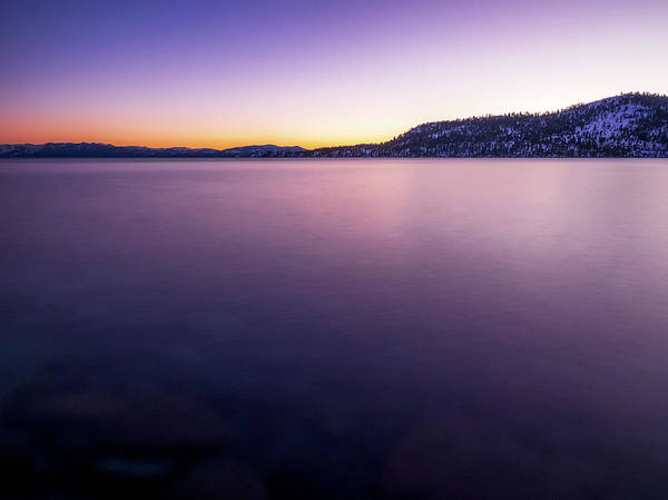 Wall Art - Photograph - Lake Tahoe Sunset by Steve Spiliotopoulos