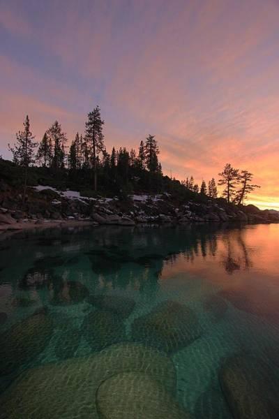 Photograph - Lake Tahoe Twilight Dreams by Sean Sarsfield