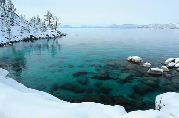 Photograph - Lake Tahoe Winter Wonderland by Sean Sarsfield