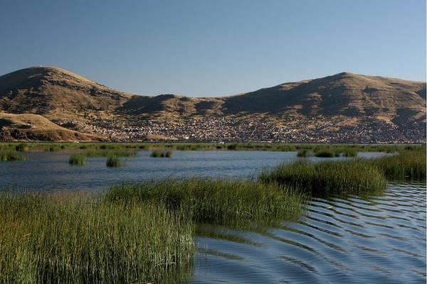 Puno Photograph - Lake Titicaca by Richard Collins