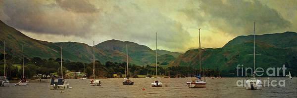 Digital Art - Lakeland Scene Uk by Liz Alderdice