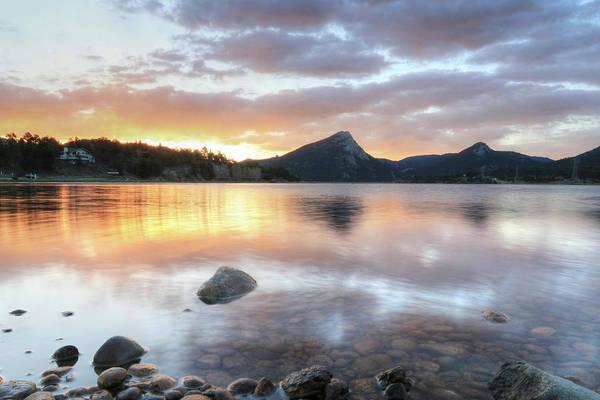Wall Art - Photograph - Lakes Estes Sunrise 2 by Lori Deiter