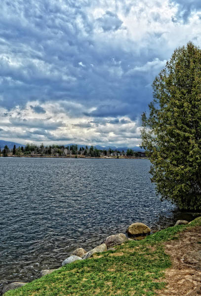 Photograph - Lakeside View by Maggy Marsh