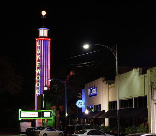 Photograph - Lakewood Theater 032719 by Rospotte Photography