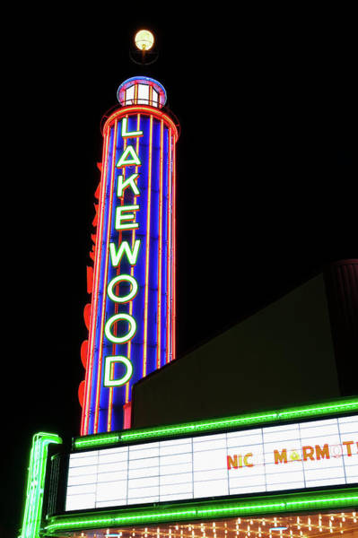 Photograph - Lakewood Theater Dallas 032819 by Rospotte Photography