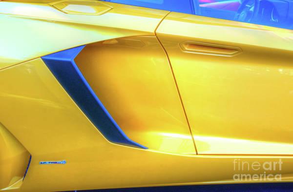 Pyrography - Lamborghini 1 by Mauro Celotti