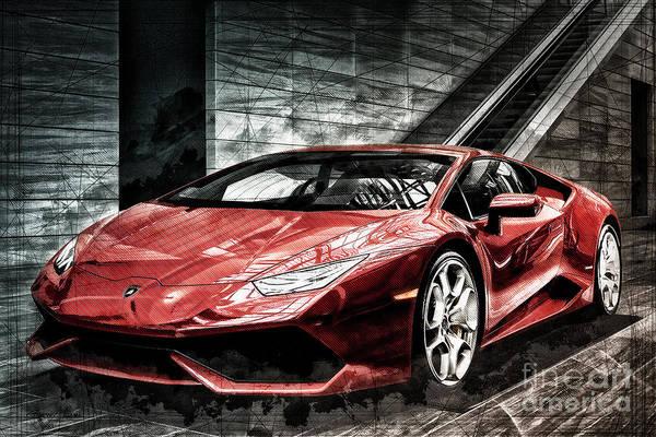 Photograph - Lamborghini Huracan 2 by Brad Allen Fine Art