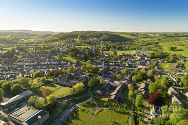 Photograph - Lampeter From The Air by Keith Morris