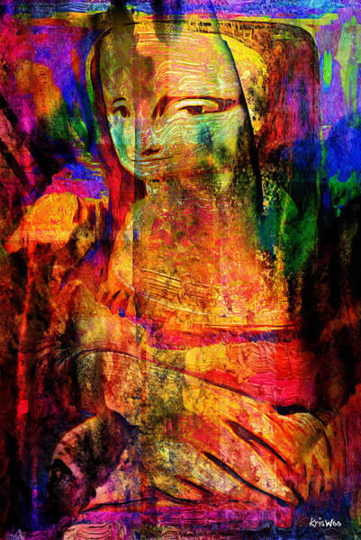 Wall Art - Digital Art - L'anacolonde by Kris Woo