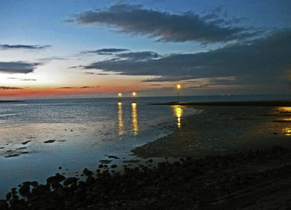 Photograph - Lancashire. Knott End. Sunset.. by Lachlan Main