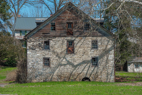 Wall Art - Photograph - Lancaster County - Baumgardners Mill by Bill Cannon