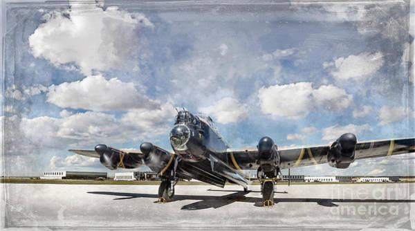 Photograph - Lancaster Engine Test 2 by Brad Allen Fine Art